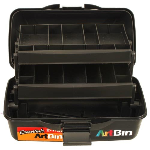 ArtBin Essentials 3-Tray Box black by ArtBin