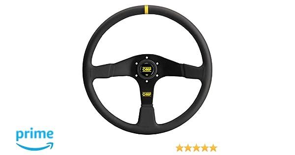 OD//1987//NN OMP Velocita 380mm Steering Wheel In Suede Leather /& Black Spokes