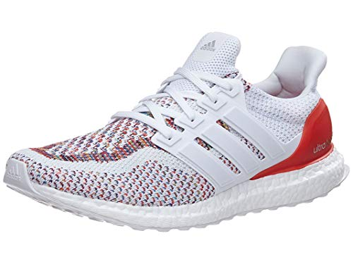 speical offer low price best online adidas Men's UltraBOOST m Running Shoe, White/Poppy, 9.5 M US