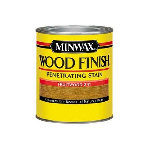 Minwax 70010444 Wood Finish Penetrating  Stain, quart, Fruit