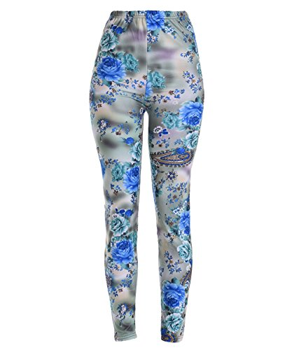 VIV Collection PLUS SIZE Printed Leggings