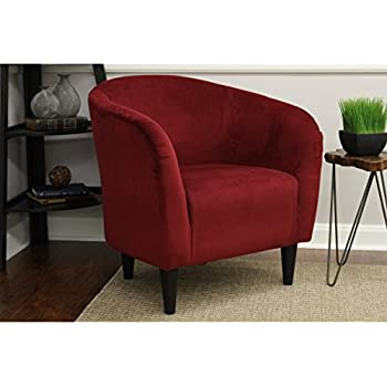 Amazon Com Mainstays Microfiber Tub Accent Chair