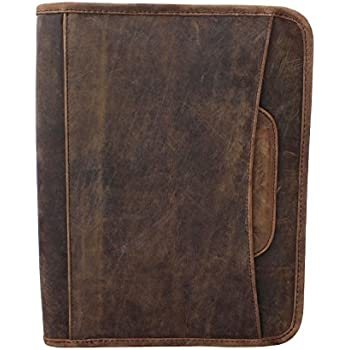 Amazon Com Jyos Leather Business Portfolio Hidden
