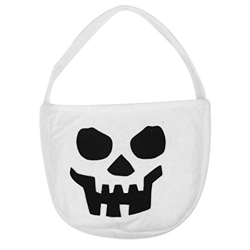 Creative Cute Halloween Costumes College (Elevin(TM) Children Halloween Smile Pumpkin Bag Kids Candy Trick or Treat Bag (A))