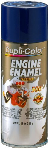 Dupli-Color® DE1606 Ceramic Ford Dark Blue Engine Paint - 12 oz. by (1)