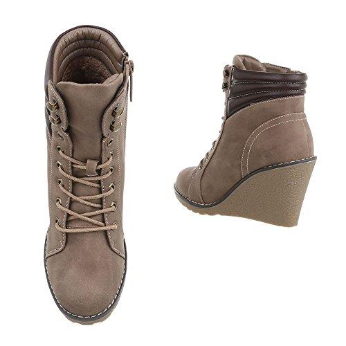et Bottes Bottines Compens Chaussures Design compens es femme Ital bottines 4caUqWZH