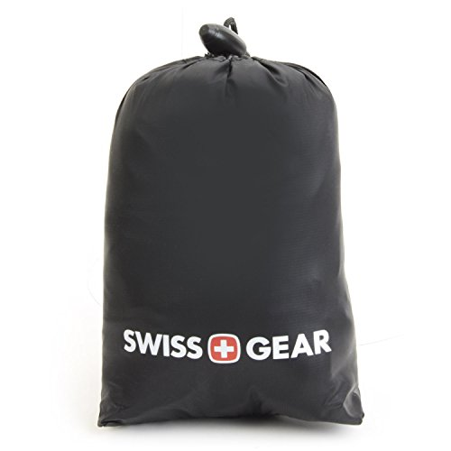 SwissGear Ultra-Light Inflatable Travel Neck Pillow with Soft Microfiber Cover, Black, One Size by Swiss Gear (Image #2)