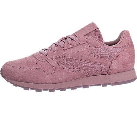 Reebok Women's Cl Lthr Lace Sneaker