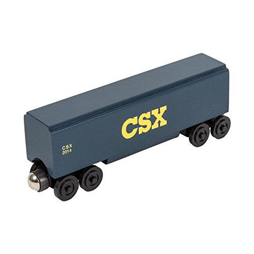 CSX Covered Hopper - Wooden Toy Train by Whittle Shortline Railroad - Manufacturer - Railroad Hopper Car