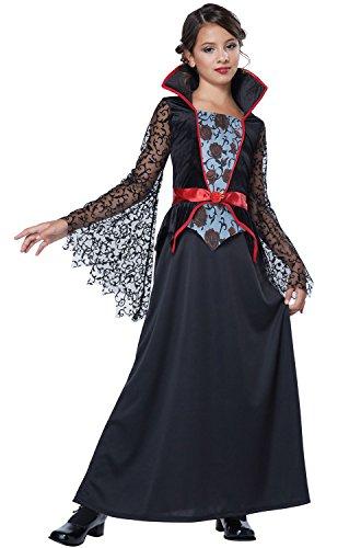 California Costumes Countess Bloodthorne Child Costume, X-Large