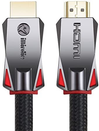 4K HDR HDMI Cable 6 Feet, 18Gbps 4K 120Hz, 4K 60Hz(4:4:4, HDR10, ARC, HDCP2.2) 1440p 144Hz, High Speed Ultra HD Cord 26AWG