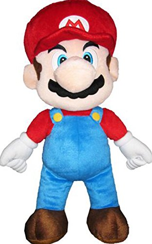 (Super Mario Nintendo Large Plush Pillow Buddy Toy - 20