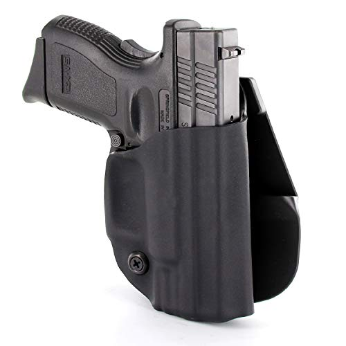 OWB Paddle Holster - Matte Black (Right-Hand, Walther P22)]()