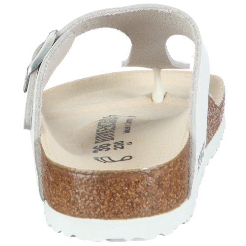 Birkenstock - Sandalias de material sintético para mujer blanco blanco White