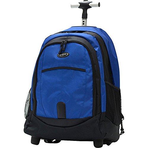 Olympia 19-Inch Rolling Backpack BU, Blue, One Size (Olympia Luggage Duffel)