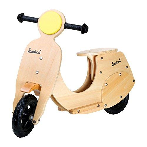 BIKESTAR Laufrad aus Holz Roller/Vespa