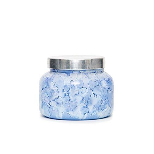 Capri Blue Watercolor Collection Jar Candle-Lilac-Blue Jean-8 ounces