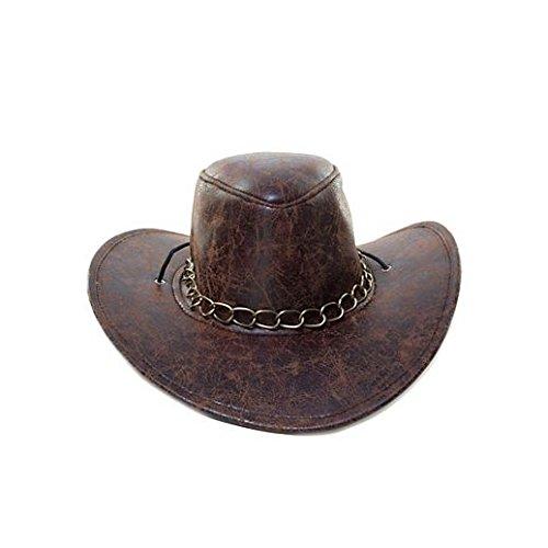 De Cowboy Adulte Costume (Fancy Party Halloween Brown Cowboy)