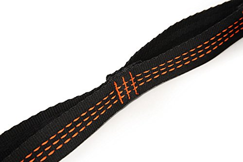 Yoga Hammock Extension Strap, Elenture Yoga Extender Strap Rope Daisy Chain Fitness Pilates Stretch Belt Exercise Extend Strap Band Set of 2pcs