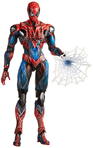 Square Enix Marvel Comics: Variant Play Arts Kai Spider-Man Action (Iron Man Batman Suit)