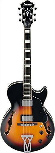 Ibanez AG75BS Artcore Hollowbody Electric Guitar, Brown Sunburst Finish ()