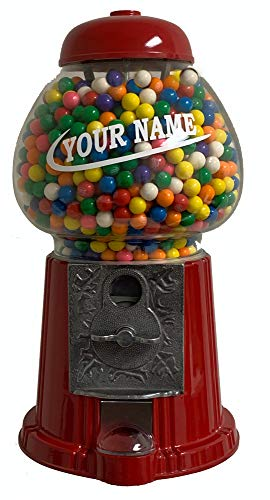 Personalized Gumball Machine (Personalized King Gumball)