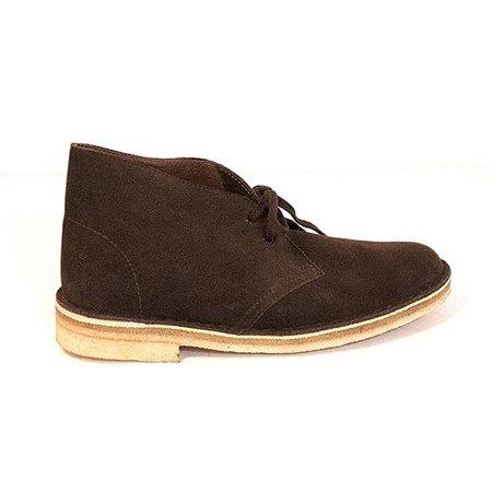 Clarks Originals Women's Desert Lace-Up Boot,Chocolate Suede