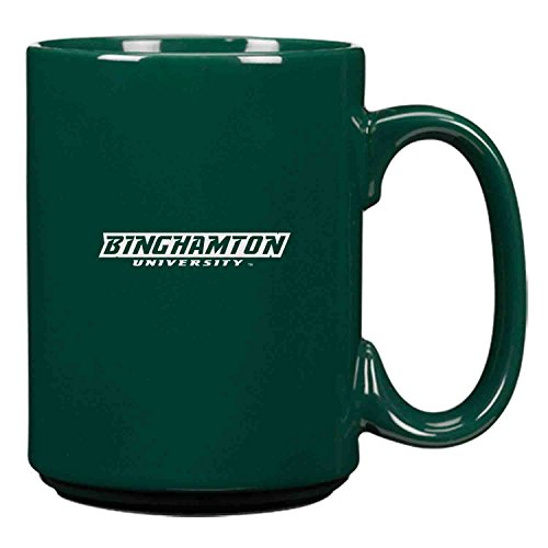 Binghamton University-15 oz. Ceramic Mug-Green