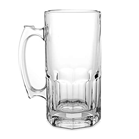 Things Remembered Personalized 34-OZ. Glass Beer Super Mug with Engraving Included