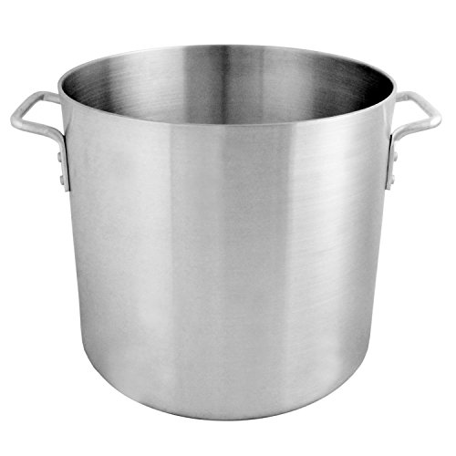 100 Quart Aluminum Stock Pot - Thunder Group 100 Quart Aluminum Stock Pot