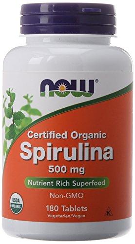 NOW Spirulina 500 180 Tablets