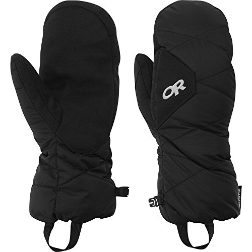 Down Mittens - Outdoor Research Phosphor Mitts, Black, Medium