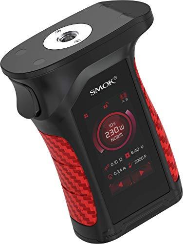 Mag P3 Akkuträger mit max. 230 Watt Ausgangsleistung – von Smok – Farbe: schwarz-rot