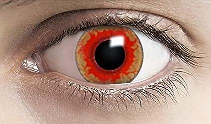 Phantasy Eyes ®Lentilles de Contact de couleur - Halloween Crazy Lens (RED  MONSTER) 23d6850a892b