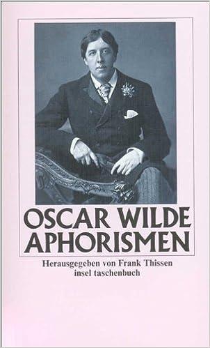 Aphorismen (insel taschenbuch)