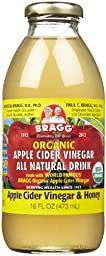 Bragg Organic Apple Cider Vinegar - Honey - 16 oz