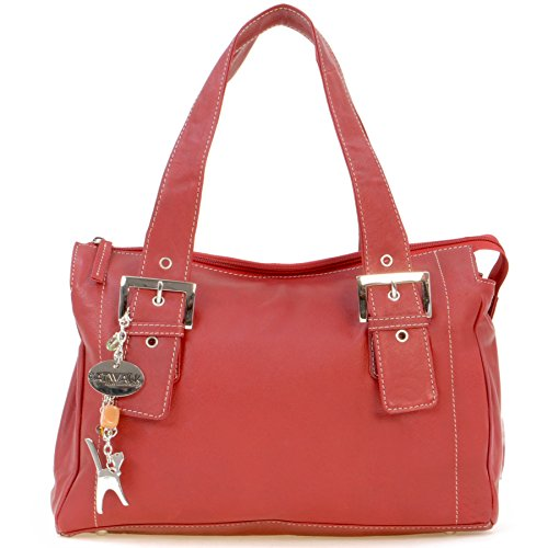 signé Jane Catwalk Sac cuir Rouge en Collection tEqEwfWHTP
