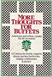 More Thoughts for Buffets, Institute Publishing Company Staff, 0395353289