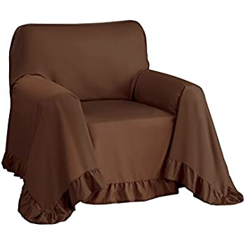 Amazon Com Furniture Throw Covers With Non Skid Backing