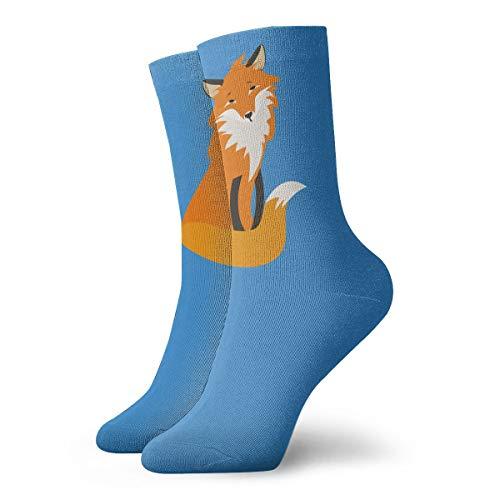 YUANSHAN Socks Fox Women & Men Socks Soccer Sock Sport Tube Stockings Length 11.8Inch]()