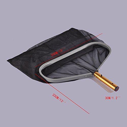 grande et r/ésistante mailles fines en nylon /Épuisette pour /étang et piscine la t/ête d/'/épuisette convient /à une perche t/élescopique standard de 2,5 cm