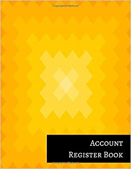 Account Register Book: Bank Deposit Book: Insignia Accounts ...