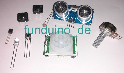Sensoren für arduino im set ultraschallsensor