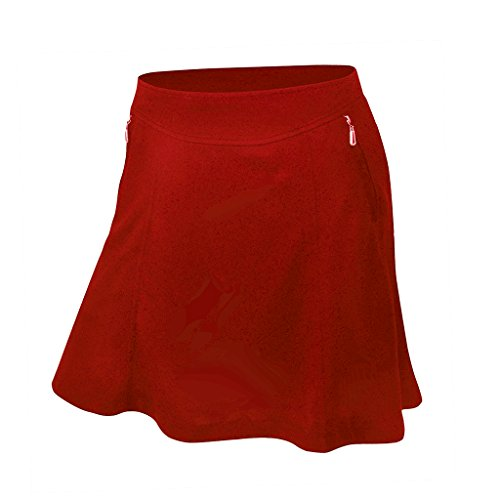 Ep Pro Pique (Monterey Club Ladies' Dry Swing Betty Fun Pull-on Skort #2924 (Red, Medium))