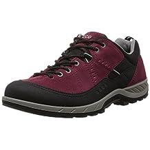 Ecco Yura Thrill GTX Low Cut Men US 9 Burgundy Sneakers