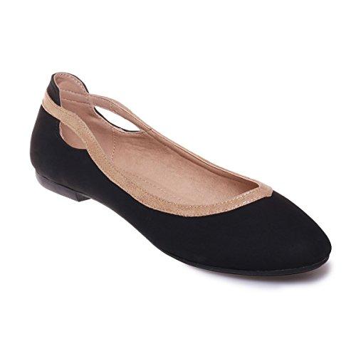 mujer Bailarinas La negro para Modeuse CqAt0