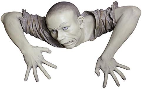 Design Toscano The Zombie of Montclaire Moors Garden Statue Halloween Decoration