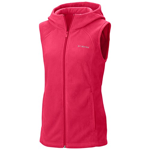 UPC 888664171294, Columbia Women's Benton Springs Hooded Vest, Ruby Red, X-Large