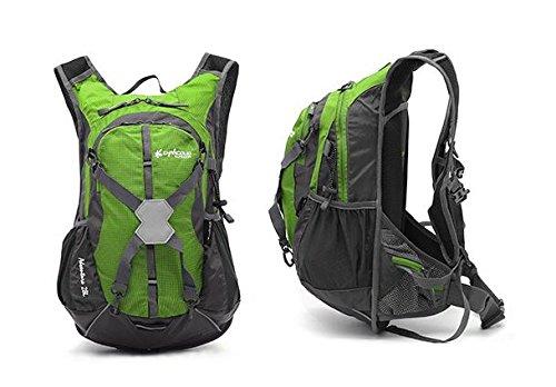 YYY-Bicicleta de viaje al aire libre al aire libre 28 Alicia L hombros paquete hombres y mujeres , green Green