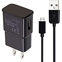 USB Charger Detachable Cord for Amazon Fire-TV-Stick, Fire-Tablet, Android-Phone Adapter for Fire Kids Edition Tablet